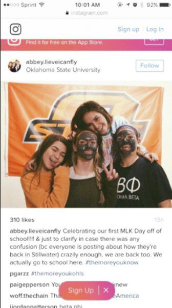 Osu Students Apologize For Thoughtless Instagram Photo News