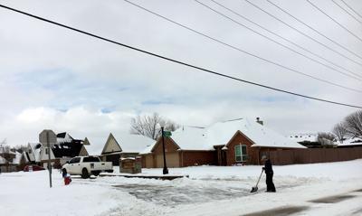 Snow on Jardot
