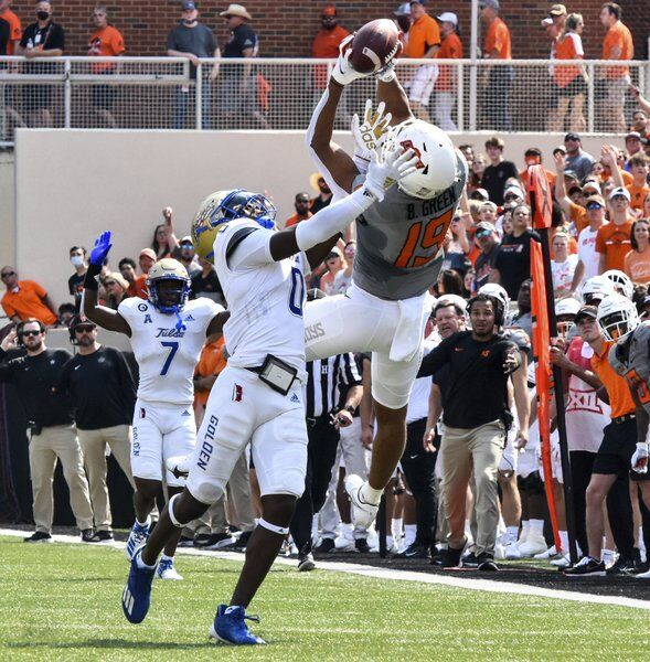 Brown's kickoff return touchdown ignites late spark for OSU in victory against Tulsa