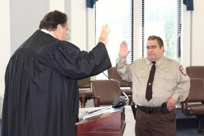 Payne County Sheriff Kevin Woodward takes office