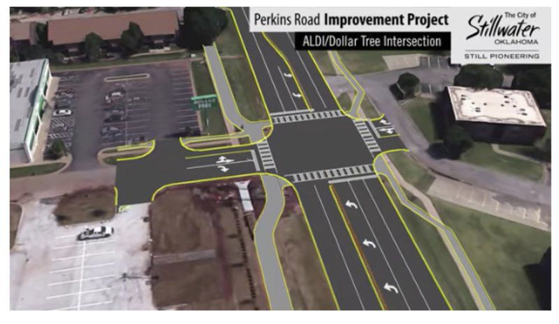 Preparation continues for North Perkins Road project