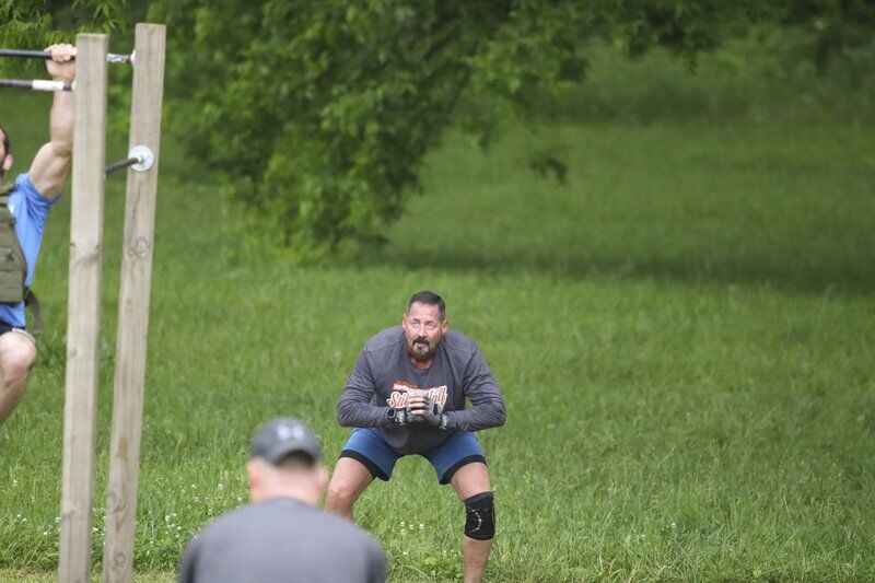 Local law enforcement honor fallen veteran with his favorite workout