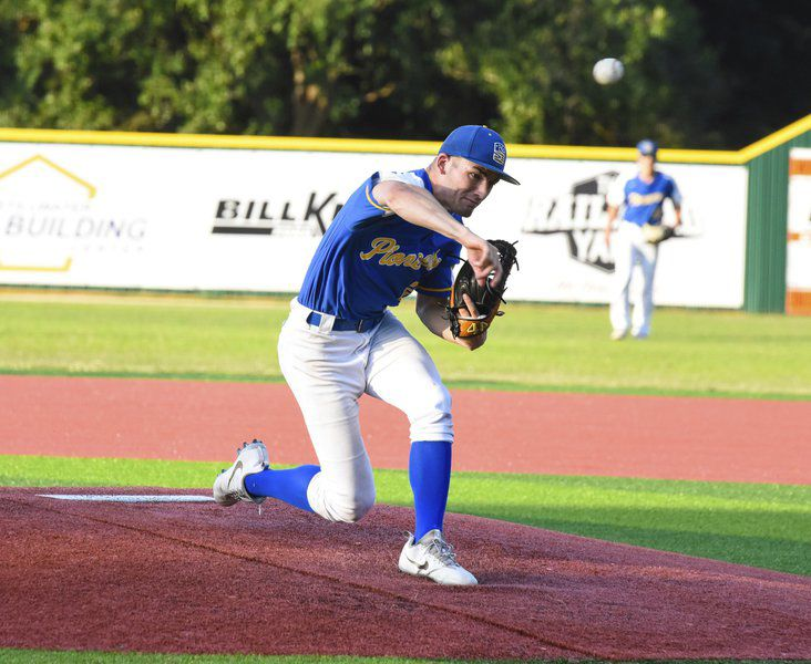 Pioneers rack up hits in win over OK Lookouts in Brad Holt Tourney