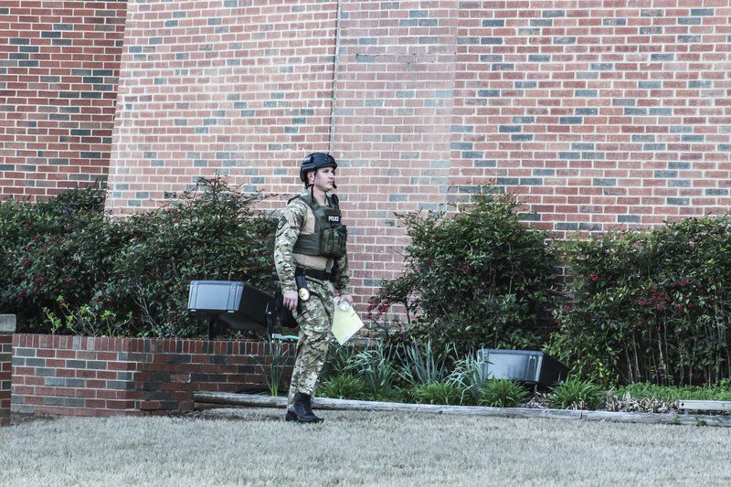 Man allegedly barricaded himself with a gun in his apartment