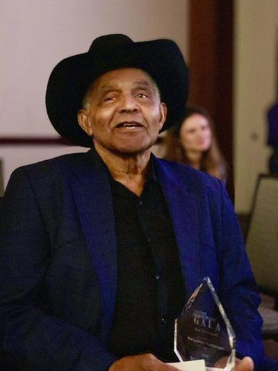Bud Bramwell honored at National Finals Rodeo