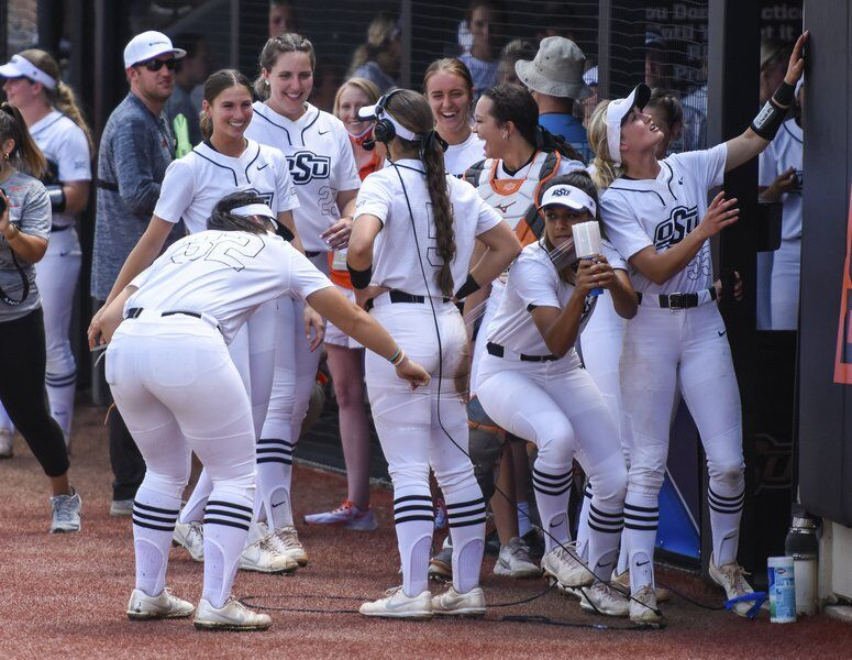 Pennington ties Cowgirls' HR record in regional victory