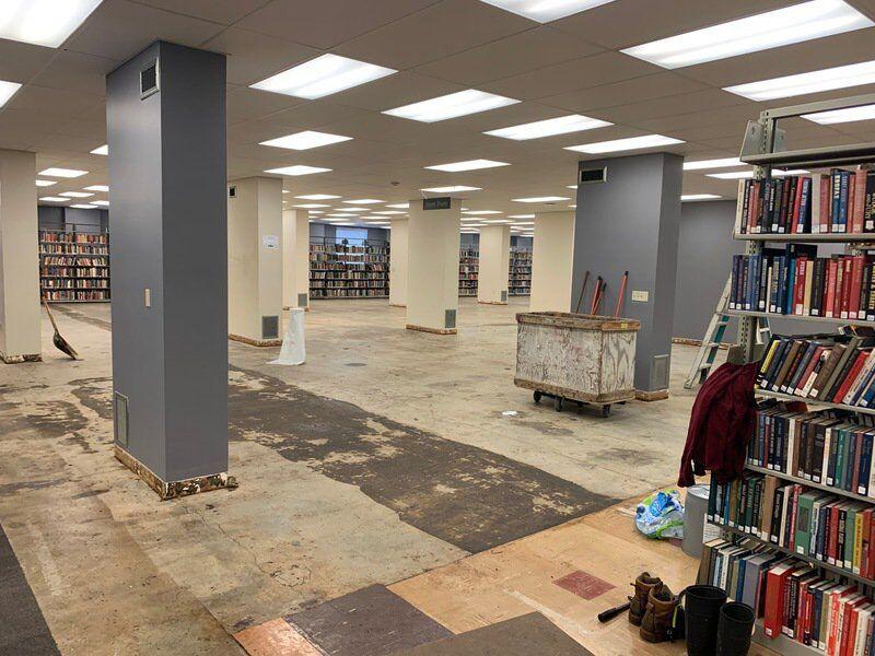 'Freshen Up' On Fourth: OSU Library Undergoing Renovations
