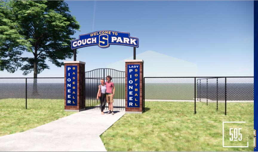 SPS ball field entrance