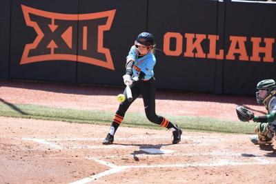 Holcomb's home run rob helps Cowgirls sweep No. 16 Baylor