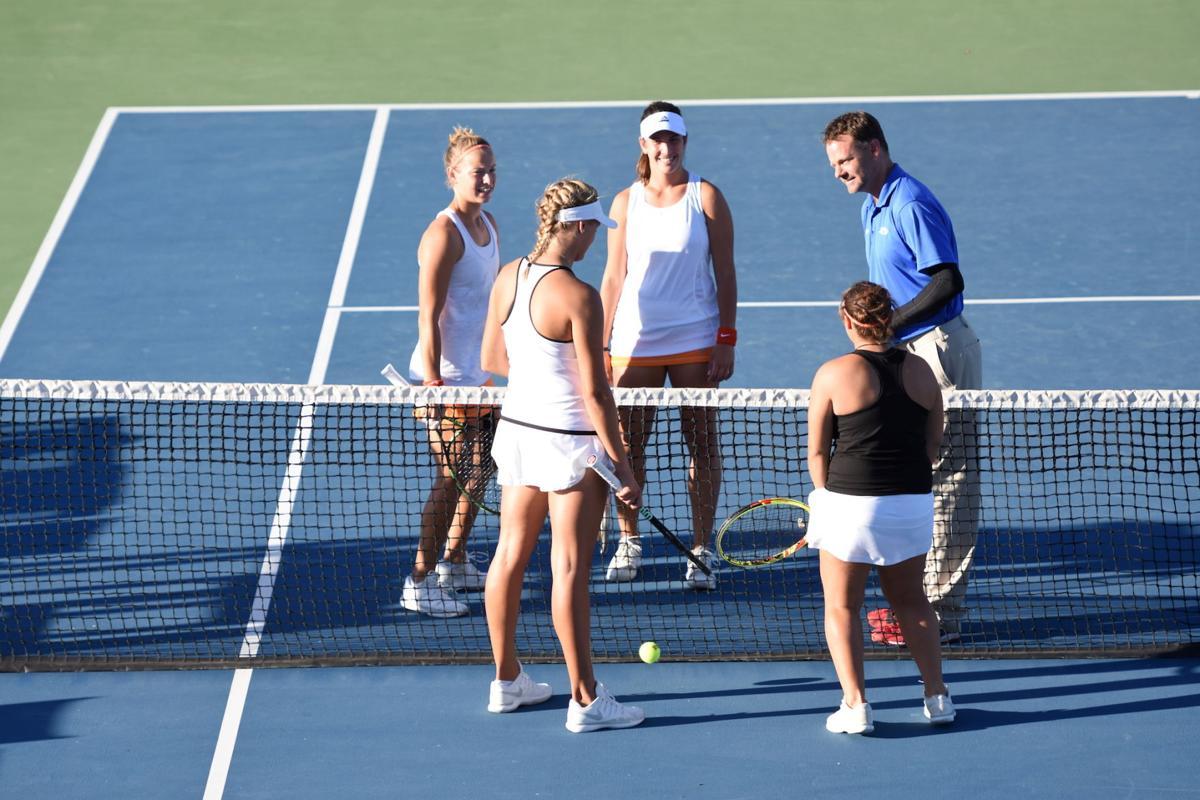 OSU women's tennis double match at Stillwater Pro Classic ...
