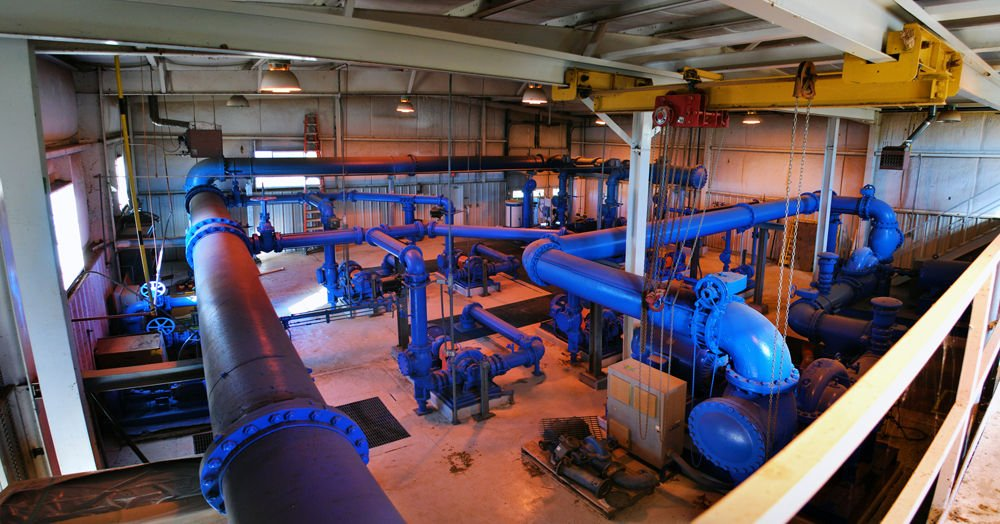 City of Stillwater water treatment plant