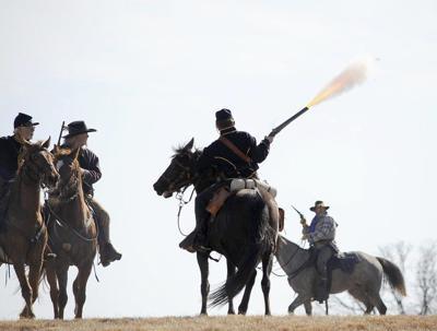 Battle of Round Mountain re-enactment reaches milestone