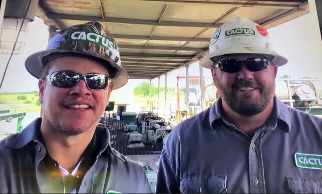 Matt Damon and Kenny Baker