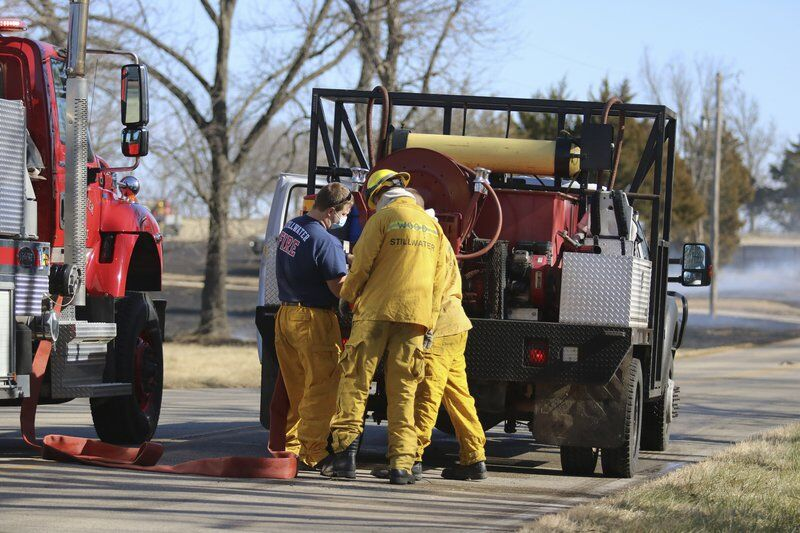 Controlled burn reignites due to high winds