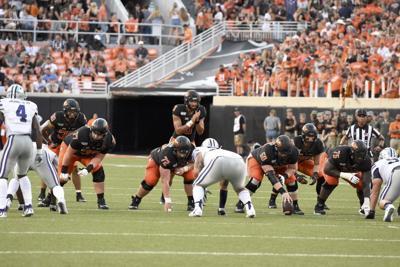 Cowboy football looking healthy along offensive line following open week