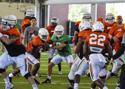 Cowboys discuss first fall scrimmage