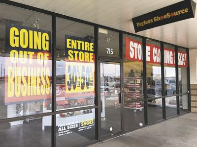 1d2048af489 Clearing out  Stillwater Payless liquidating ahead of store closure ...
