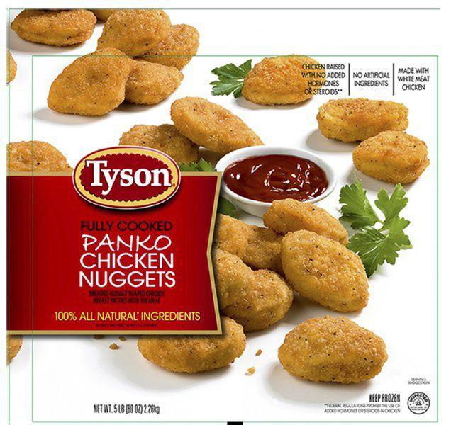 Tyson Recalls Chicken Nuggets
