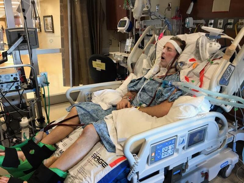Local firefighterRandy Blakedischarged after lengthy battle with COVID-19