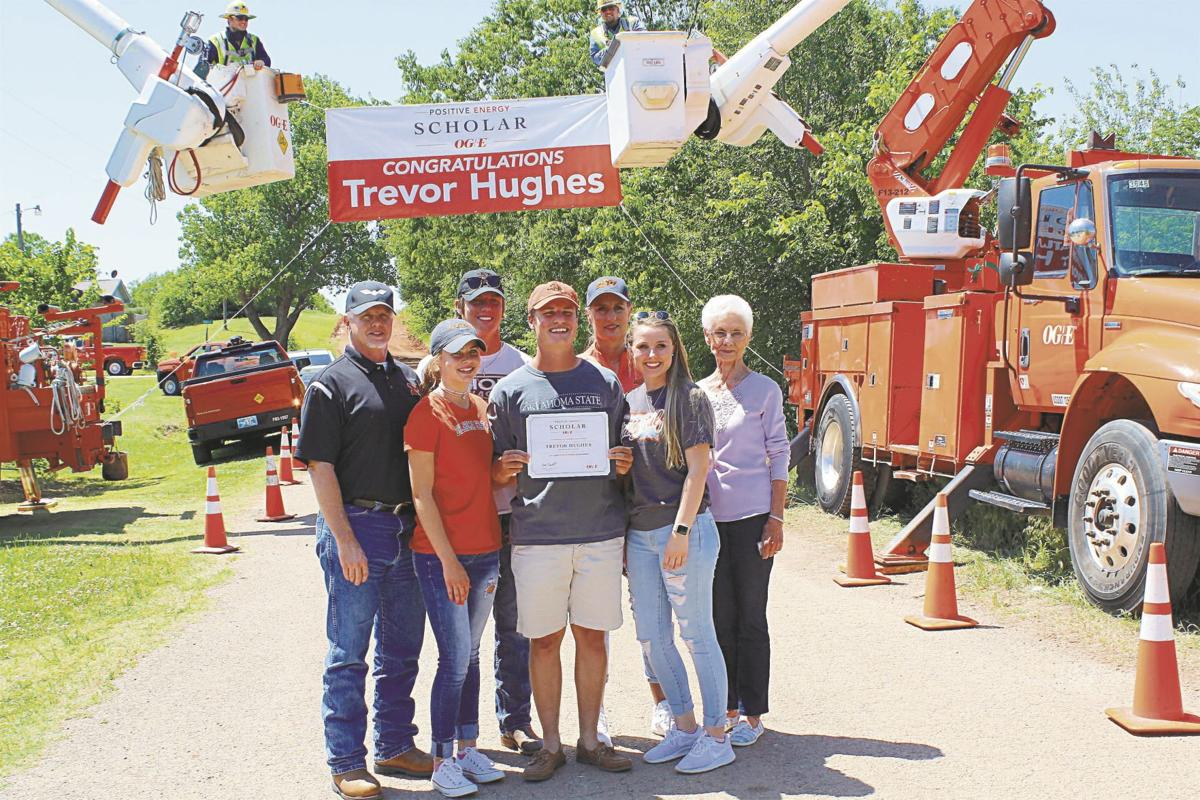 Trevor Hughes and family