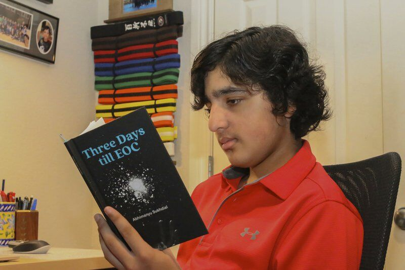 Local middle schooler wins first place in book contest