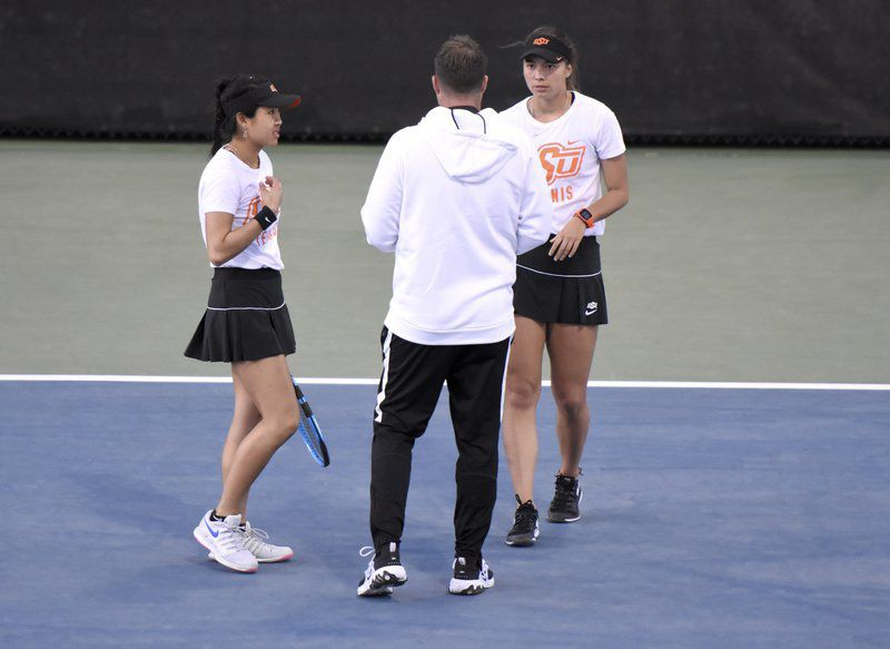 Young discusses Cowgirl tennis season, NCAA cancellations