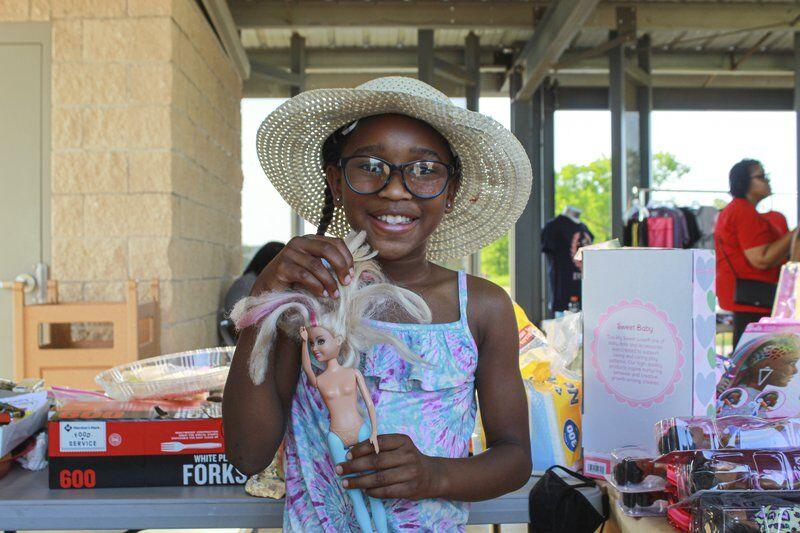 Historic Black town swaps white dolls at Juneteenth celebration