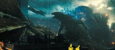 'Godzilla' doubles down on the brawn in sequel