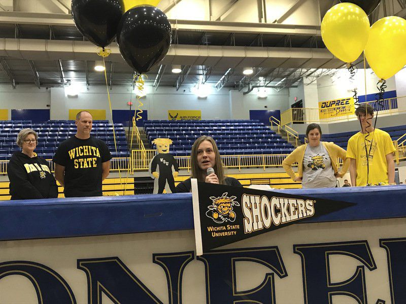 Three Pioneers make college commitments official