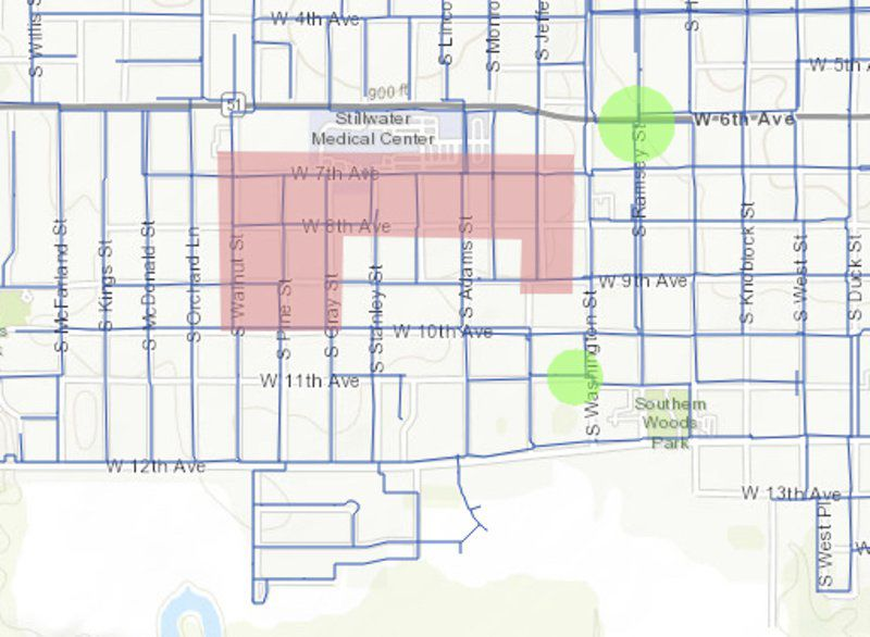 Aging water lines being replaced south of SMC