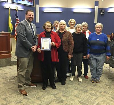 City Council recognizes League of Women Voters 100th Anniversary