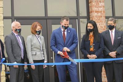 Governor cuts ribbon on Oklahoma Pandemic Center, Public Health Lab in Stillwater