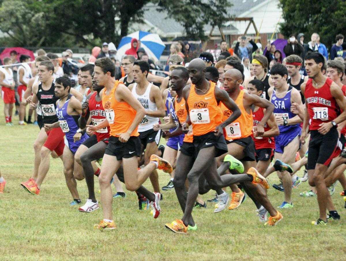 oklahoma state cross country meet 2014