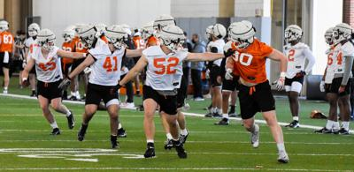 Spring practice drill