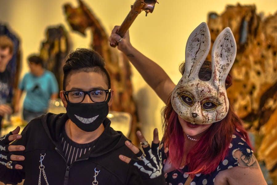 Rabbit girl and skeleton-2.jpg