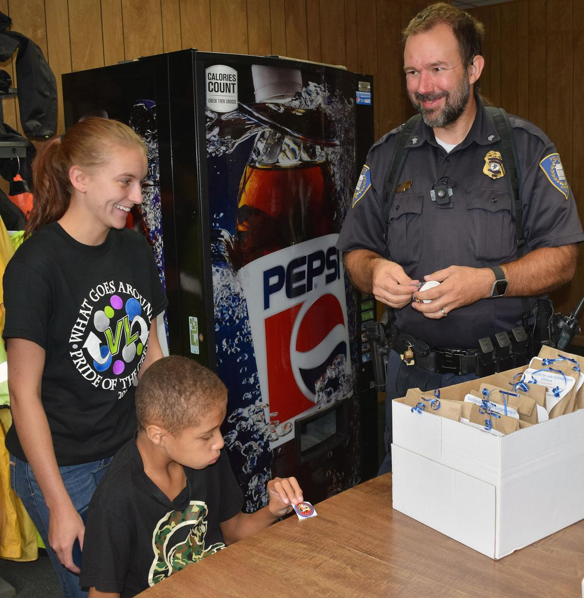LHS Class Provides Care Packages To Local Law Enforcement