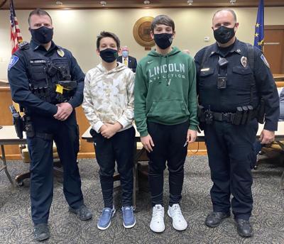 Cops recognized