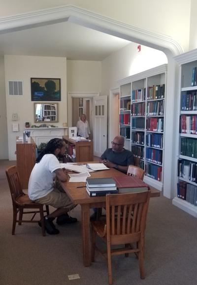 Researchers at McGrady-Brockton House