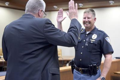 Jon Hillenbrand sworn in as new police chief