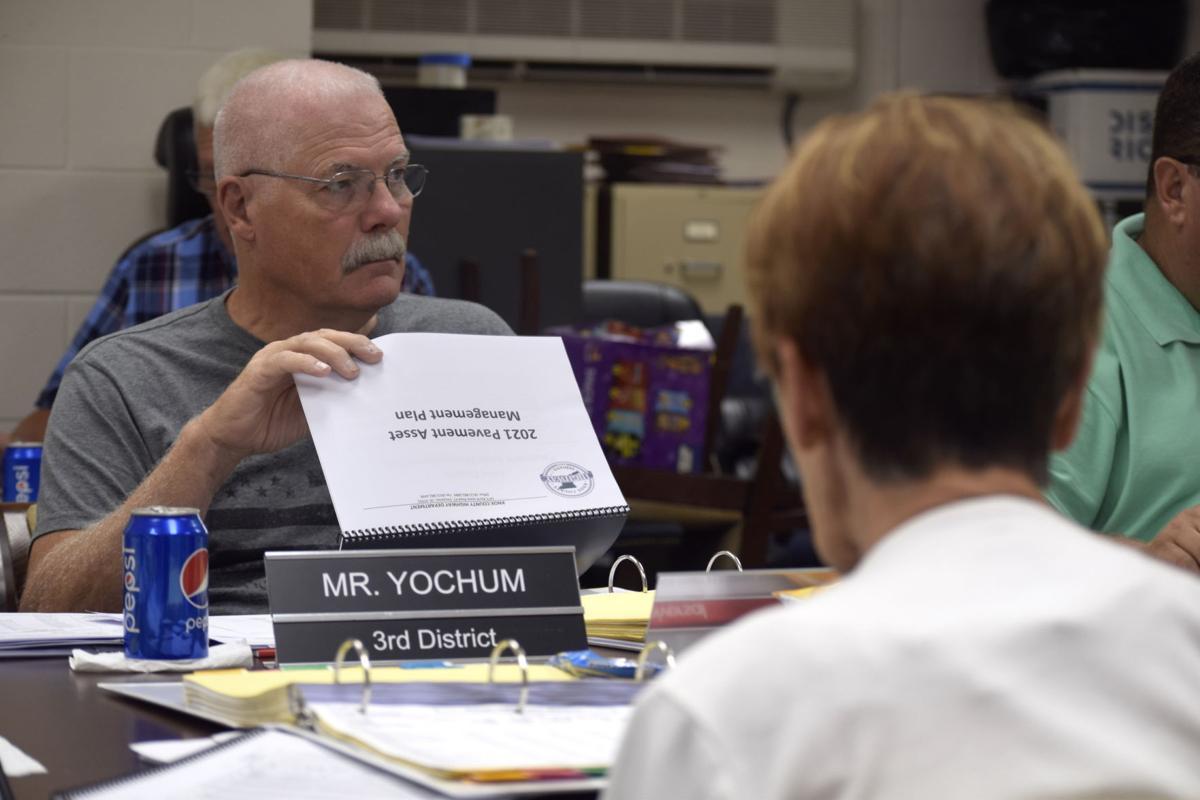 Jay Yochum budget hearings