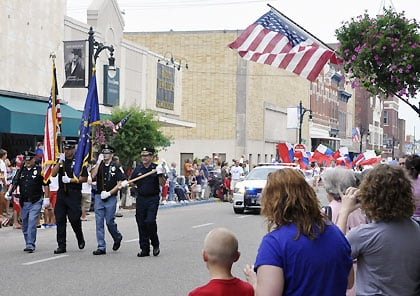 Vincennes Fourth of July Parade 2013