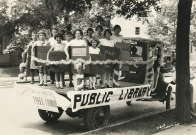1928 Library Summer Reading July 4th Parade Float