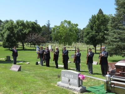 Color Guard At Funerals Program Set For Oct. 18