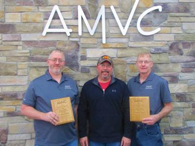 AMVC sow farm managers recognized for career milestone