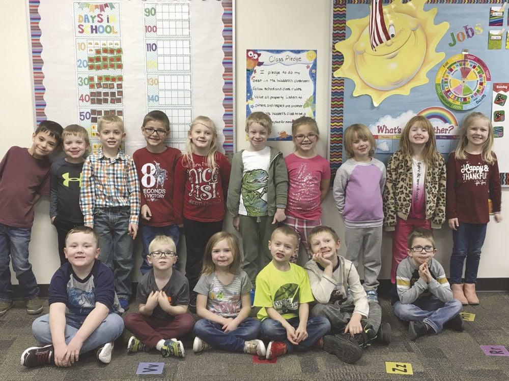Ms. Waddell's kindergarten class, Exira-Elk Horn Kimballton Elementary School