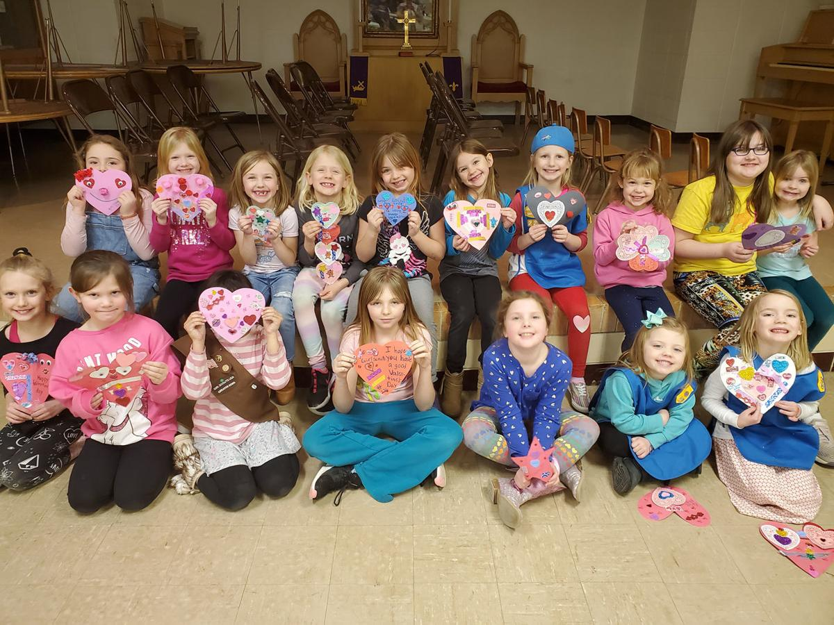 New Girl Scout Troop in Audubon donates cookies to Friendship Home