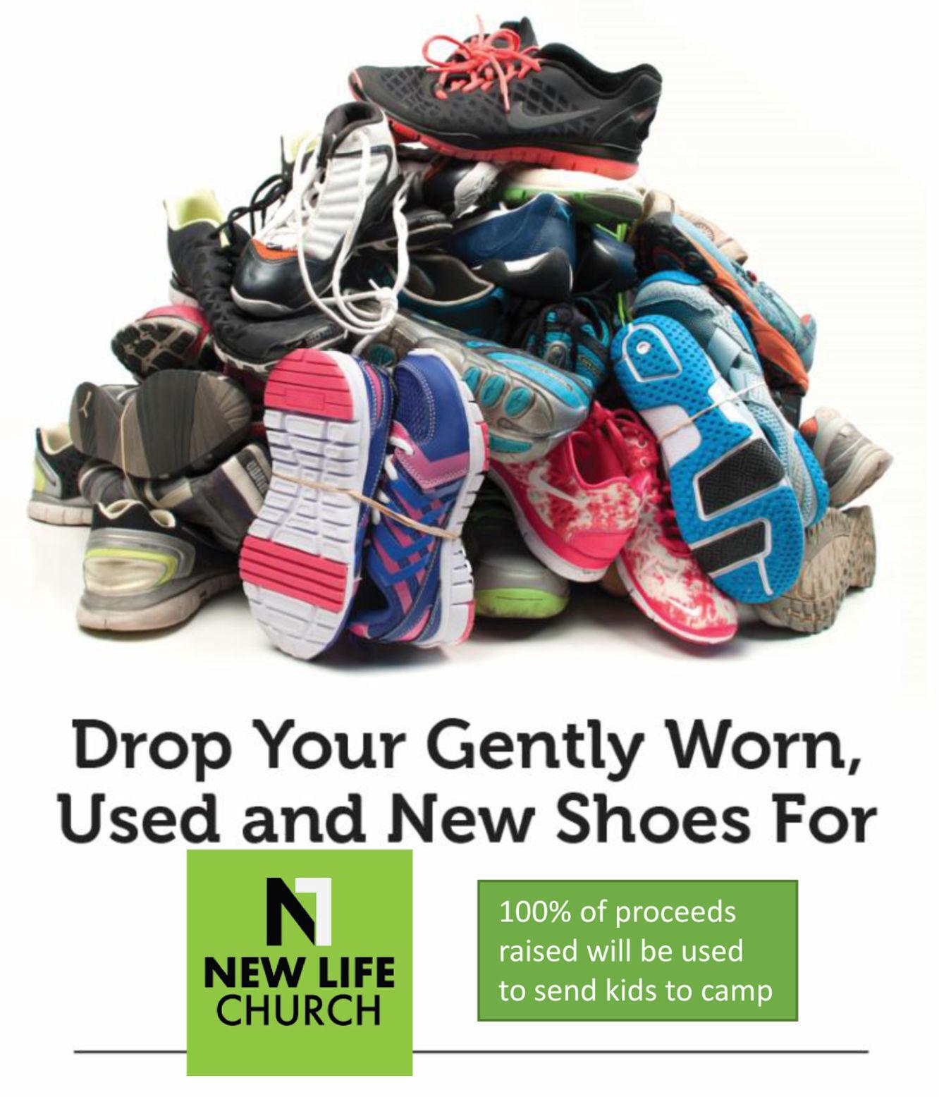 New Life Church Launches Shoe Drive Fund-raiser