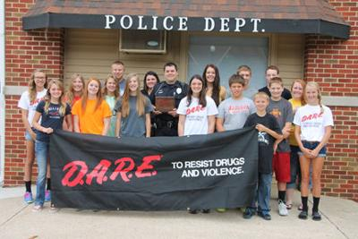 Starmer named DARE Officer of the Year