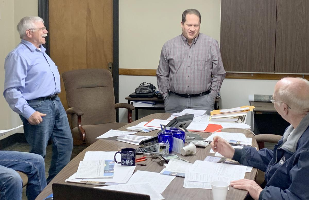 Supervisors Introduce new County Engineer