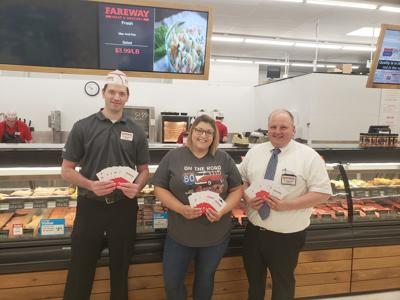 Atlantic Chamber Receives Fareway Gift Cards For Small Business Officials
